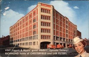 Liggett  Myers Cigarette Factory Richmond