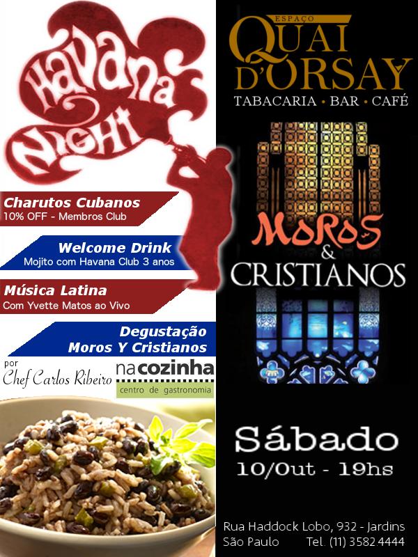 Moros Y Cristianos - Noite Havana