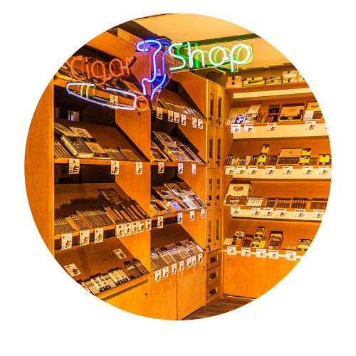 Cigar Shop Umidor Redondo