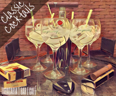 Gin Tonic com Monte Cristo Edmundo, uma combinação de dar agua na boca.