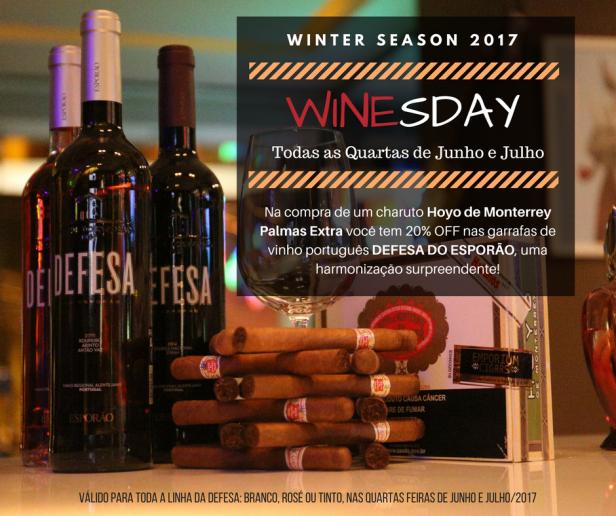 Winesday - Junho e Julho