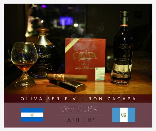 Harmonização Oliva Serie V Ron Zacapa 23 e XO
