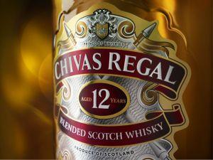 Chivas Regal 12 Restage detail label