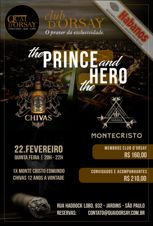 ClubDOrsay CHIVAS EDMUNDO (Prince and Hero) - Fevereiro2018
