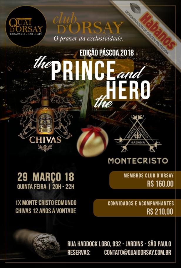ClubDOrsay CHIVAS EDMUNDO (Prince and Hero) - Março2018