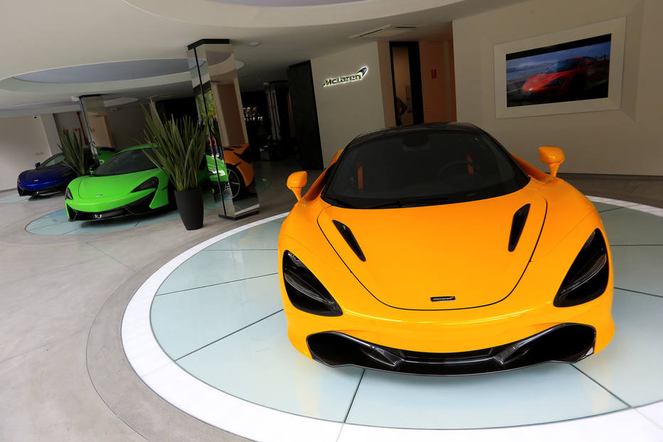 McLaren inaugura loja em SãoPaulo
