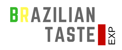 Brazilian Taste EXP Logo Fundo Transp Preto