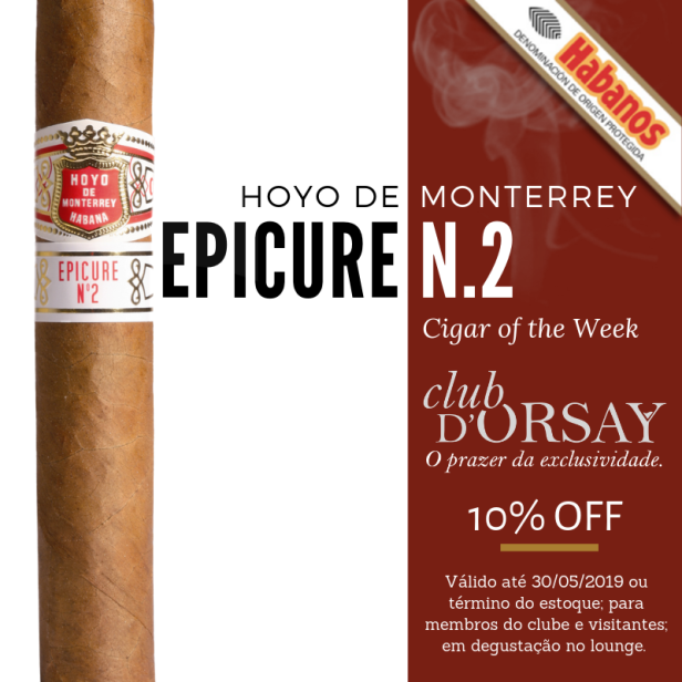 Epicure N.2 - Cigar of Week
