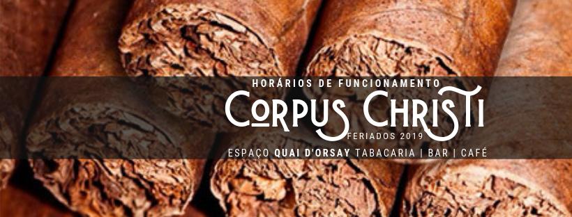 Corpus Christi 2019: Horários deFuncionamento