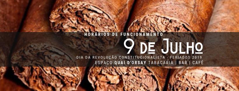 Dia da Revolução Constitucionalista 2019: Horários deFuncionamento