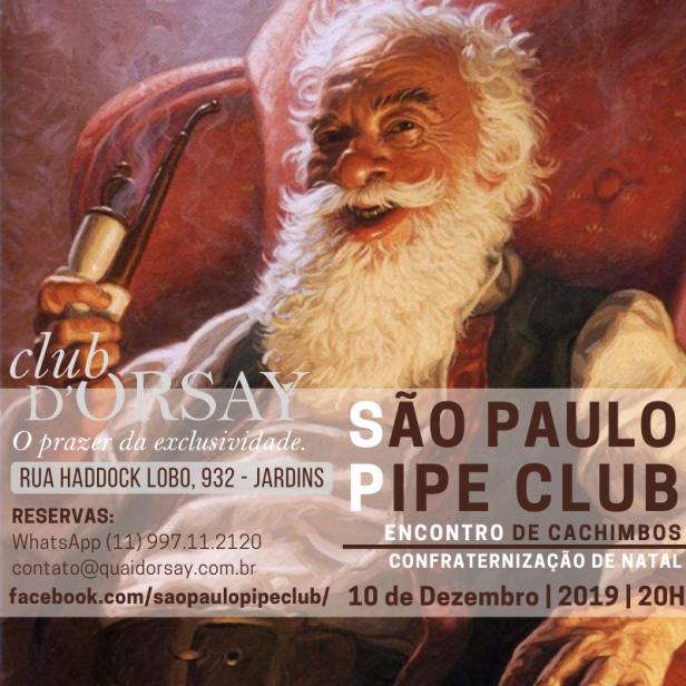 São Paulo Pipe Club - Dezembro