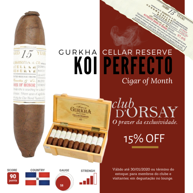 Gurkha KOI - Cigar of Month