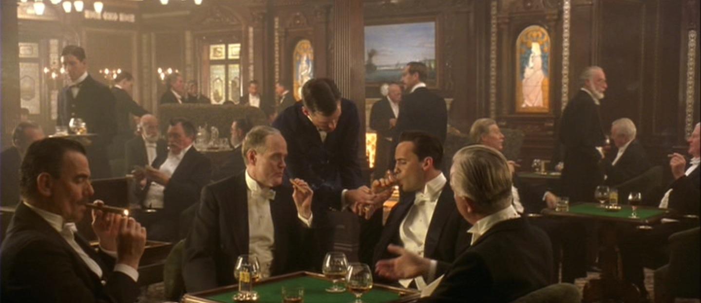 harmonização de charutos cognac titanic