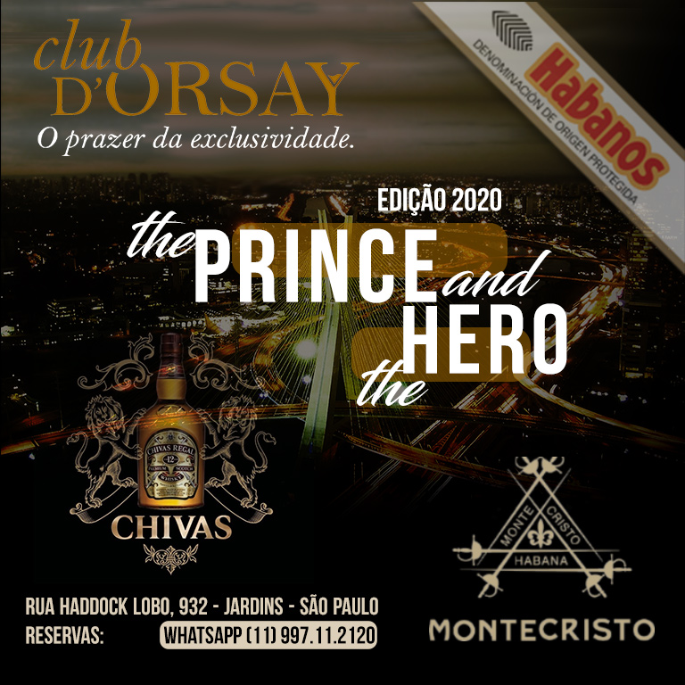 ClubDOrsay CHIVAS EDMUNDO (Prince and Hero) - Outubro2020